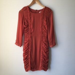 H&M Ruched Dress